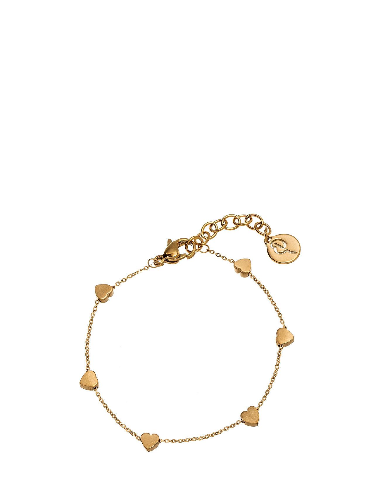 edblad – Heart bracelet mini multi fra boozt.com dk
