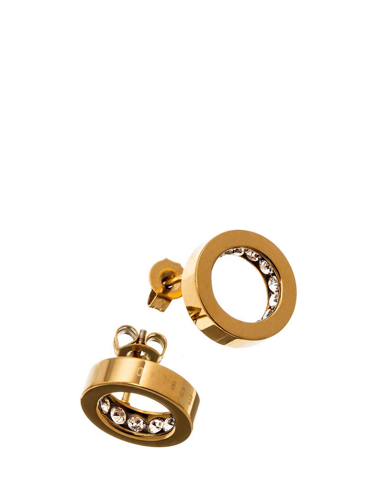 Monaco Studs Edblad Smykker til Kvinder i Guld