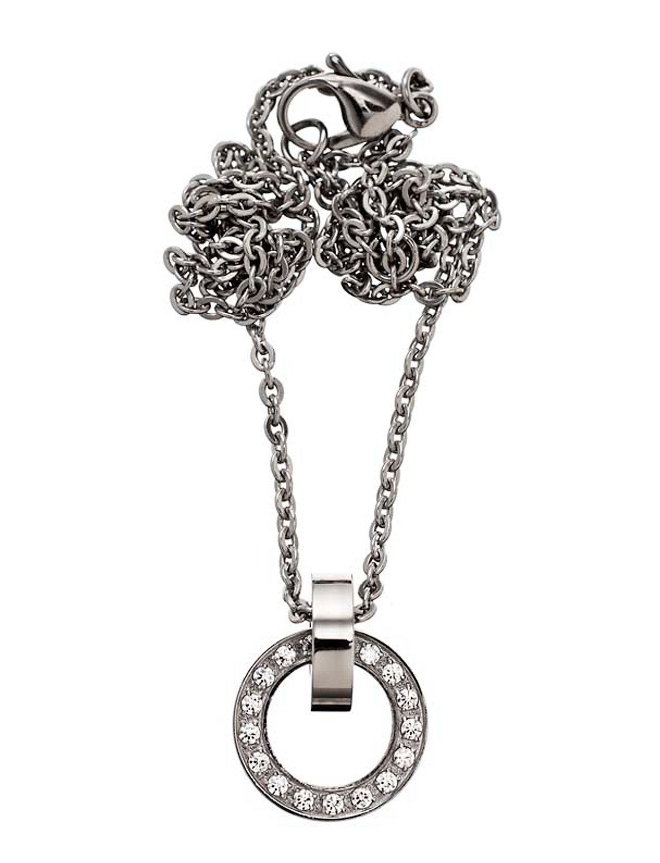 edblad – Eternity orbit necklace short fra boozt.com dk