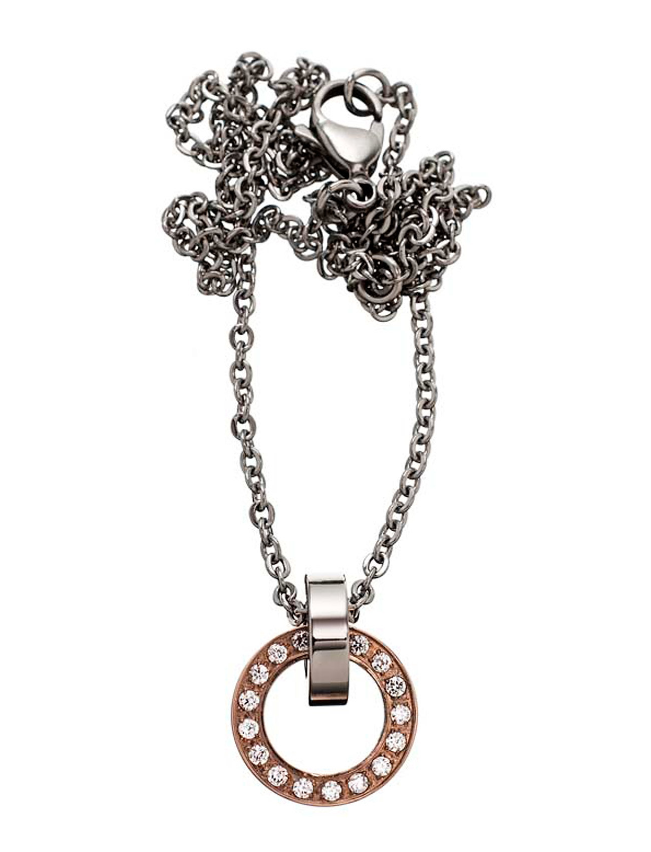 Eternity Orbit Necklace Short Edblad Smykker til Damer i