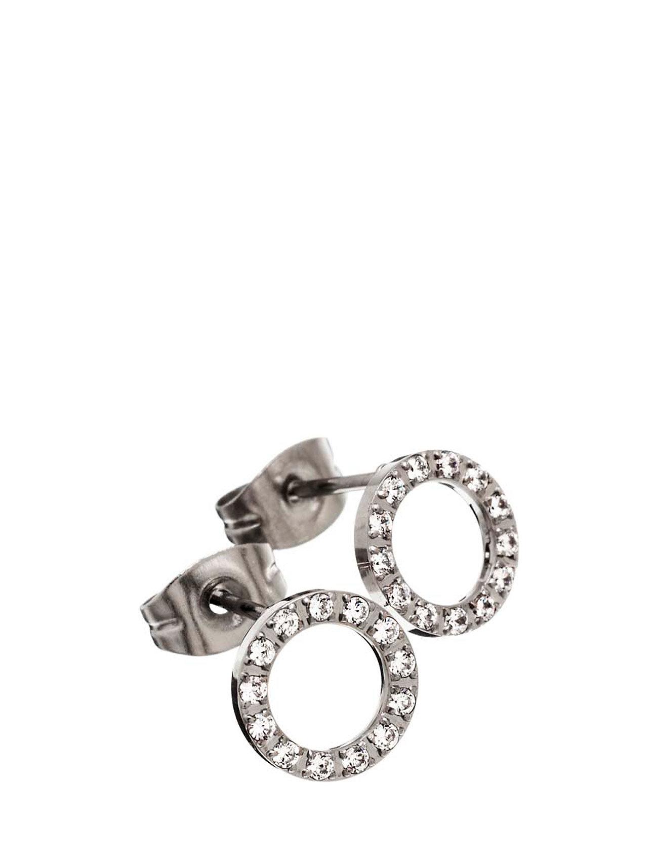 Glow Studs Mini Edblad Smykker til Kvinder i Stål