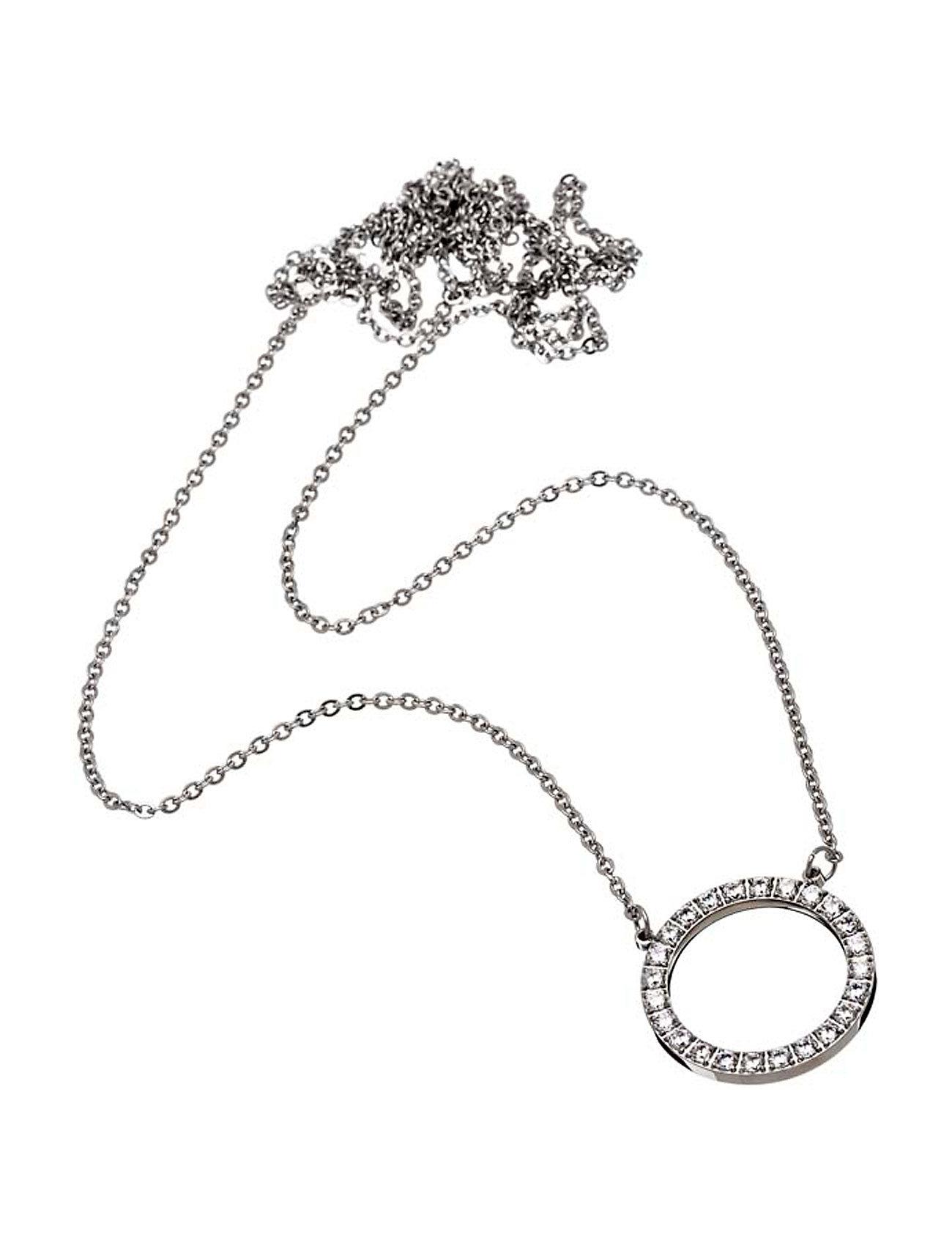 Glow Necklace Large Steel Edblad Accessories til Kvinder i Stål
