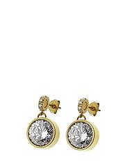 June Earrings - STEEL