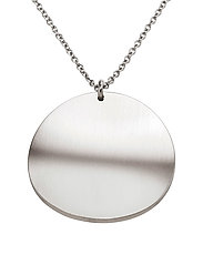 Concave Necklace Matt - STEEL