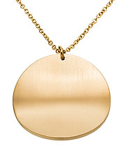 Concave Necklace Matt - GOLD