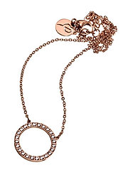 Glow Necklace Short - ROSE GOLD