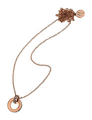 Isa Orbit Necklace - ROSE GOLD