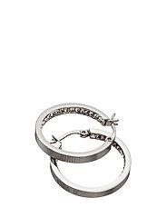 Monaco Earrings small - STEEL