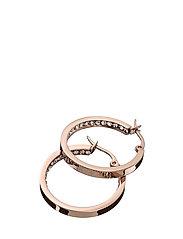 Monaco Earrings small - ROSE GOLD