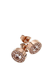 Thassos studs - ROSE GOLD