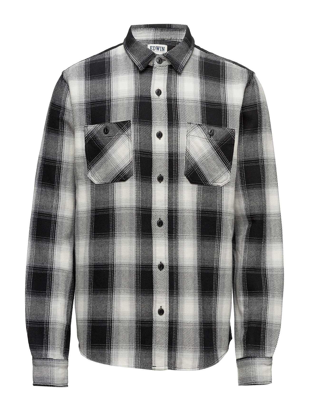 edwin – Labour shirt heavy flanel brushed fra boozt.com dk