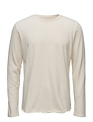 Terry Long Sleeve T-Shirt - NATURAL