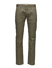 Chino Compact Twill - MILITARY GREEN