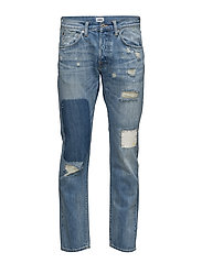 ED-55 Regular Tapered Jeans - PULLED WASH