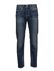 ED-55 Regular Tapered Jeans - GRIME DIRT WASH