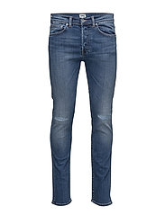 ED-80 Slim Tapered Jeans - BAROQUE WASH