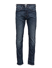 ED-80 Slim Tapered Jeans - CONTRAST CLEAN WASH
