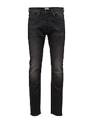 ED-80 Slim Tapered Jeans - GOTH BLACK