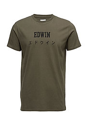 Edwin Japan T-Shirt - OLIVE DRAB