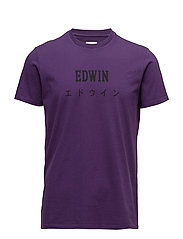 Edwin Japan T-Shirt - PURPLE