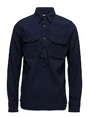 Loggerhead Popover Shirt - BLUE RINSED