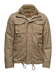 M65 Jacket - KHAKI VINTAGE WASHED