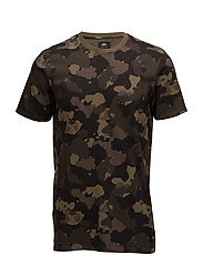 Camo Tee - GARMENT WASHED