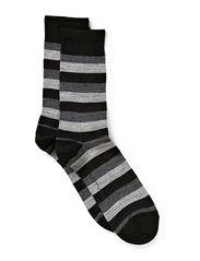 Twin-sock 2 colour ringles - Argyle