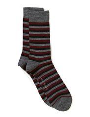 Twin-sock 3 colour ringles - Route 66