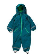 Big Owl Winter Suit - Deep Lake Green