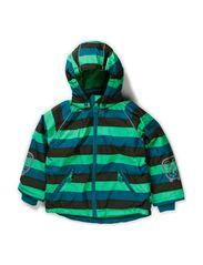 Striped Jacket Boy - Island Green