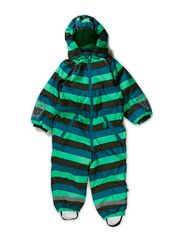 Striped Winter Suit - Island Green