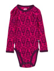 Owl Wool Body l/s - Cerise