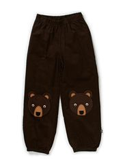 Baby Wale Patch Pants - Coffee Bean