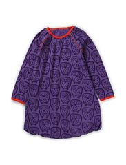 Owl Dress - Deep Lavender