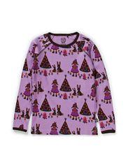Sweet Tipi T-shirt l/s - African Violet