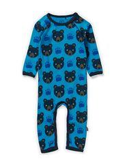 Bear Cottonsuit - Turquoise