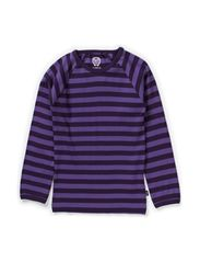 Basic Striped T-shirt l/s - Crown Jewel