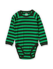 Basic Striped Body l/s - Rosin Green