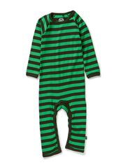 Basic Striped Cottonsuit - Rosin Green