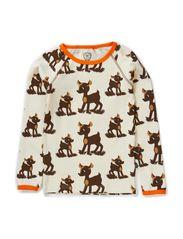 My Deer T-shirt l/s - Creme