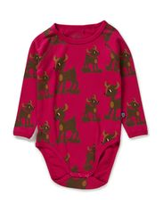My Deer Body l/s - Cerise
