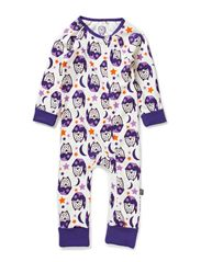 Nightwear Jumpsuit - Gentian Violet