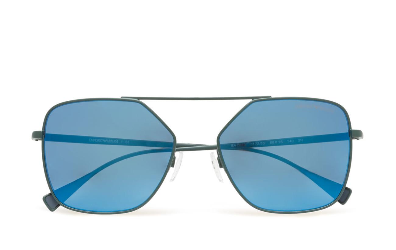D-frame (Matte Green) (£121.10) - Emporio Armani Sunglasses | Boozt.com