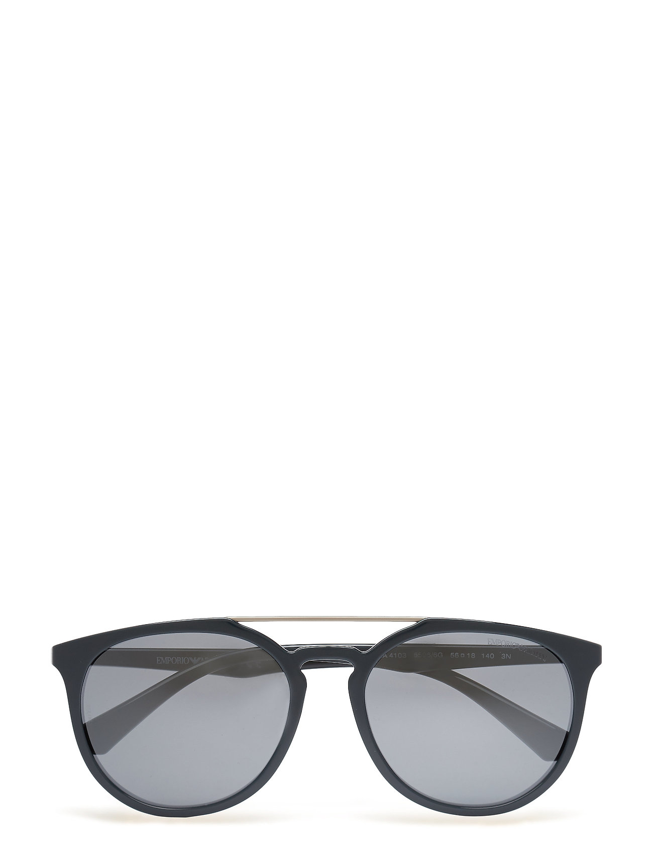 Round Frame Emporio Armani Sunglasses Solbriller til Herrer i