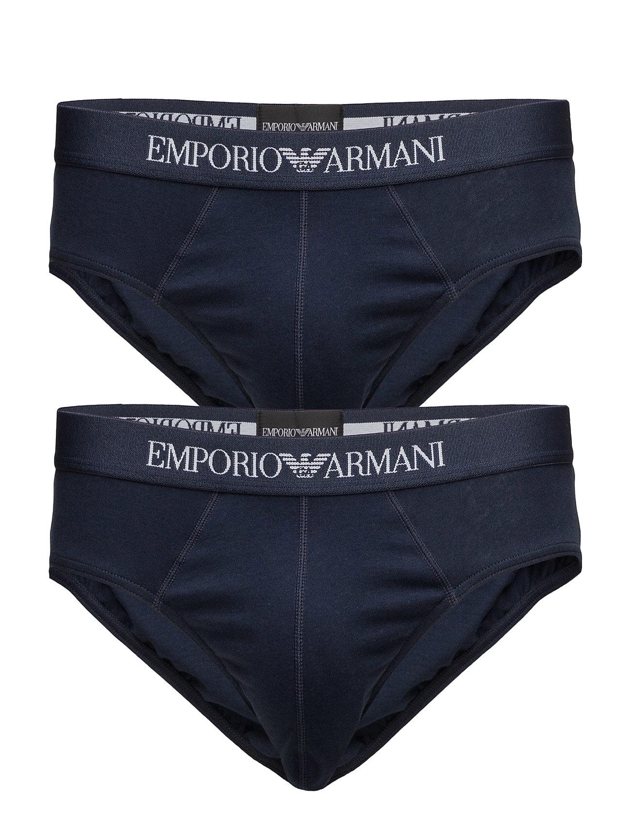 emporio armani Mens knit 2pack brie på boozt.com dk