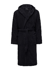 MEN'S WOVEN BATHROBE - 00135-MARINE