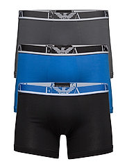 MEN'S KNIT 3-PACK BOXERSHORTS - 19944-ANTRAC/CIELO/NERO
