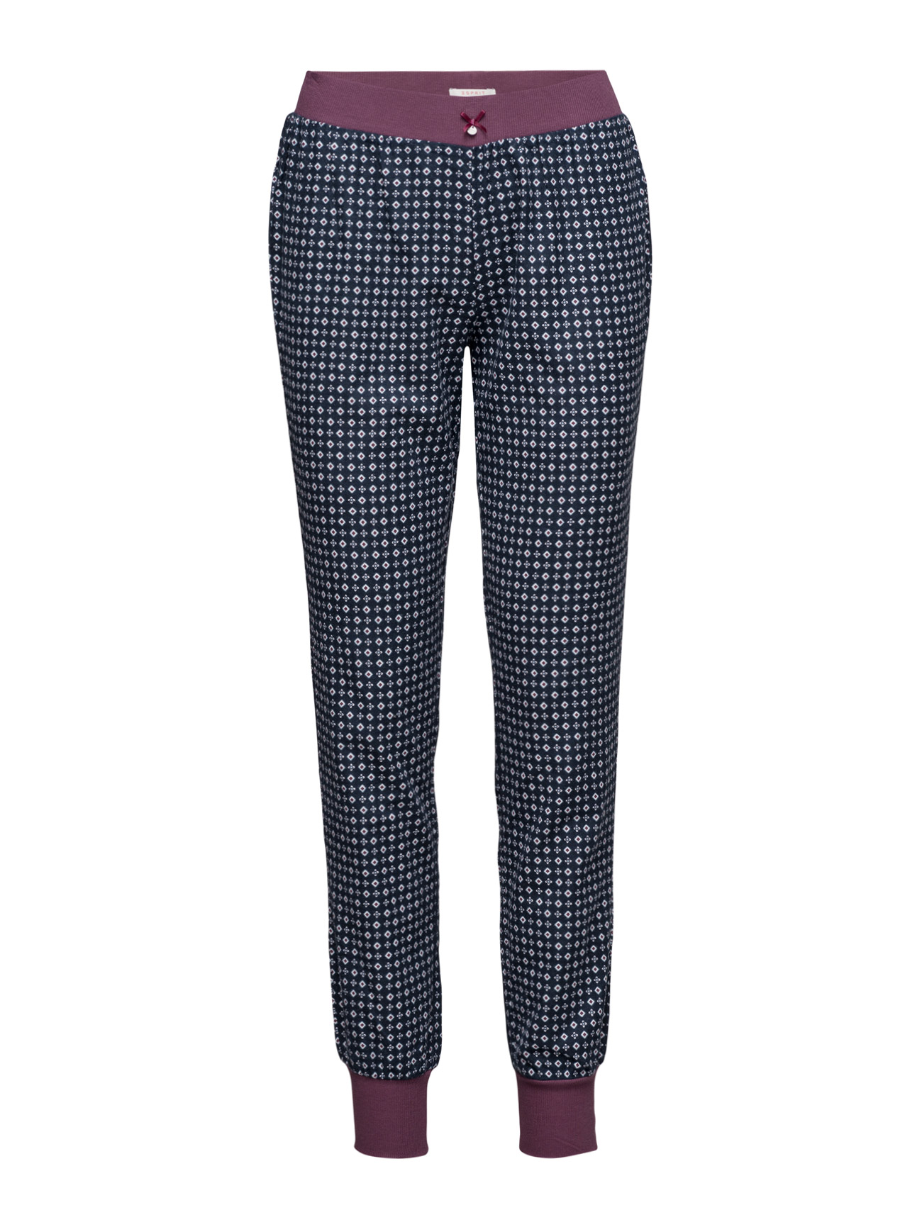 Nightpants Esprit Bodywear Women Loungewear til Kvinder i Navy blå