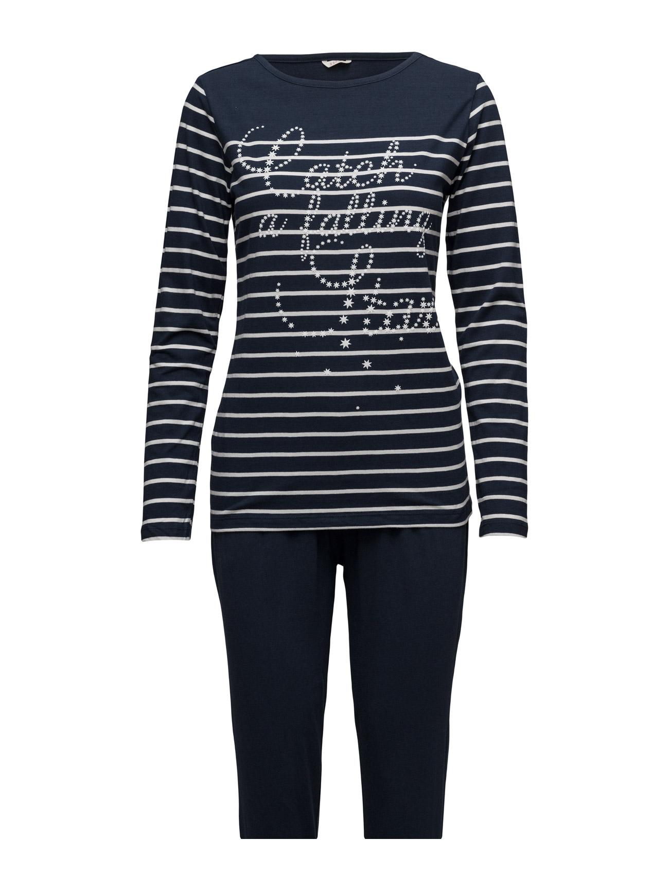 Pyjamas Esprit Bodywear Women Nattøj til Damer i Navy blå